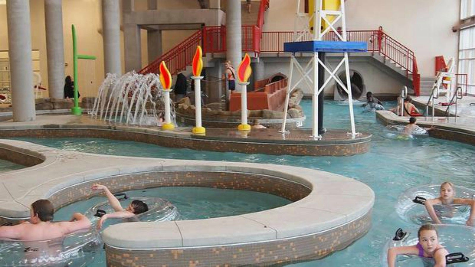 Williston Area Recreation Center - Water Park