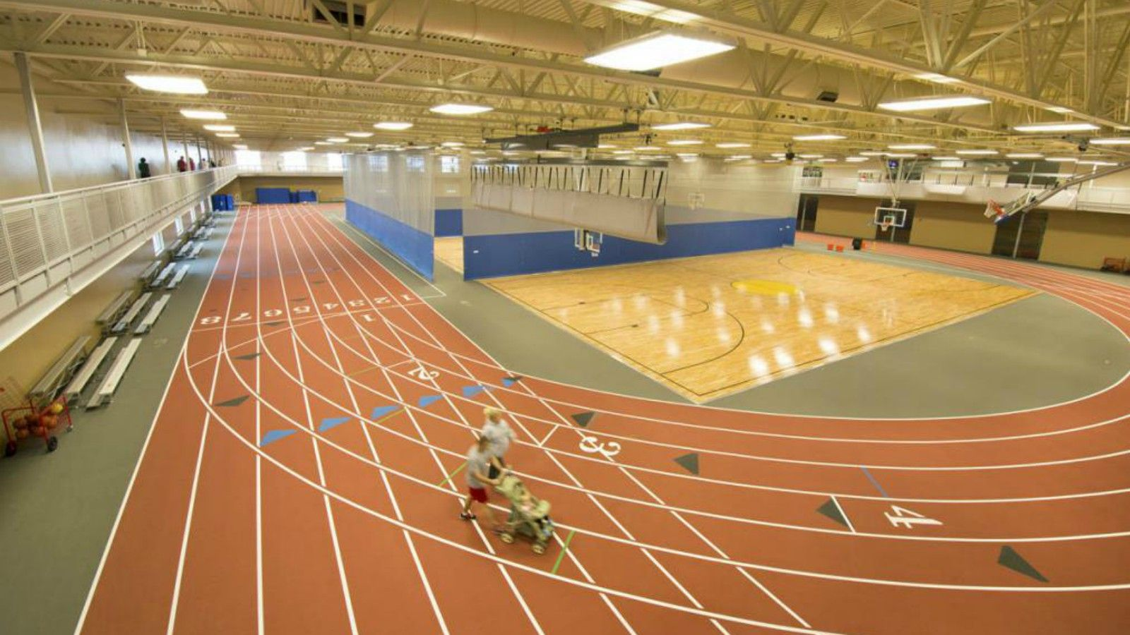 Williston Area Recreation Center - Gymnasium/Track