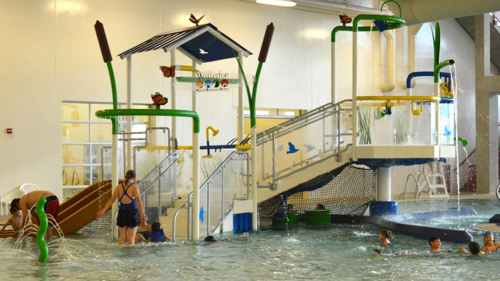 Williston Area Recreation Center - Waterpark